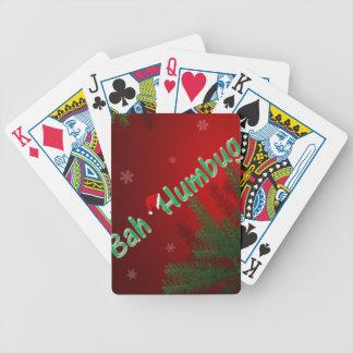 Bah Humbug Poker Deck