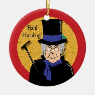 Bah! Humbug! Scrooge Ornament