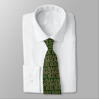 Bah Humbug Snowflake Tie