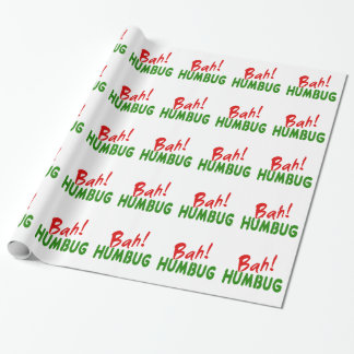 Bah! Humbug Wrapping Paper