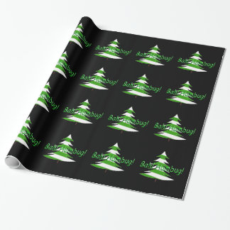 Bah! Humbug! Wrapping Paper