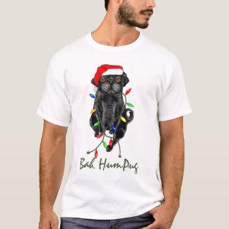 Bah HumPug Black Pug T-Shirt