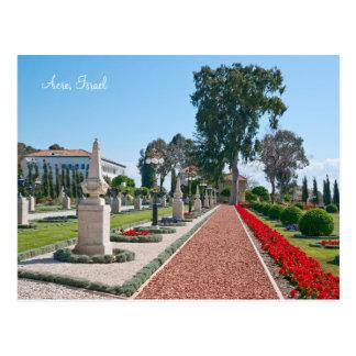 Bahá'í Gardens of Acre, Israel Postcard