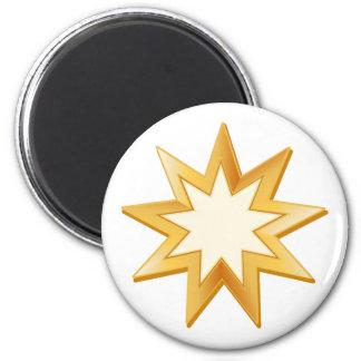 Baha'i Symbol Magnet