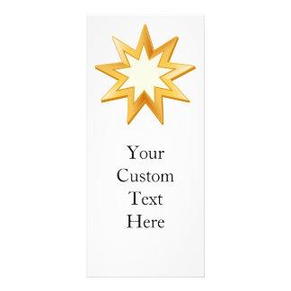 Baha'i Symbol Personalized Rack Card
