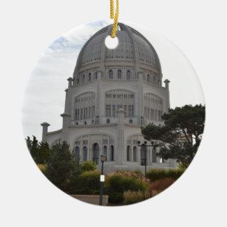 Bahai Temple in Wilmette,IL Christmas Ornament