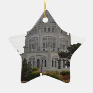Bahai Temple in Wilmette,IL Christmas Tree Ornament
