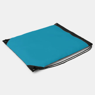 Bahama Blue-Ocean Blue-Water Blue Tropical Romance Drawstring Backpacks