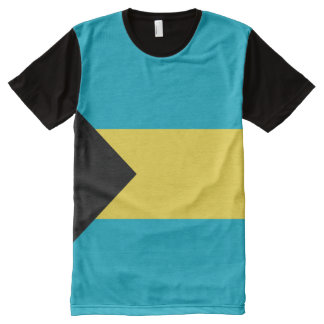 Bahama Flag full All-Over Print T-Shirt