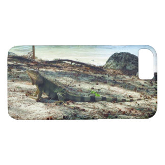 Bahama Iguana iPhone 7 Case