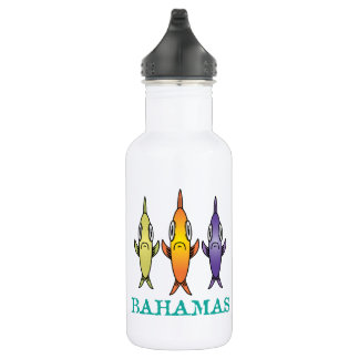 Bahamas 3-Fishes 532 Ml Water Bottle