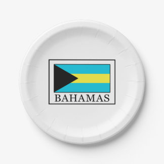 Bahamas 7 Inch Paper Plate