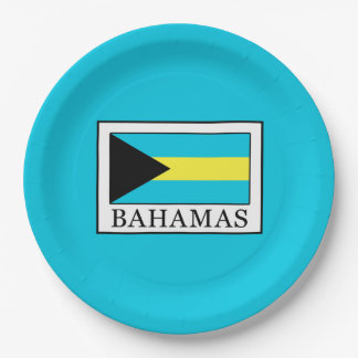 Bahamas 9 Inch Paper Plate