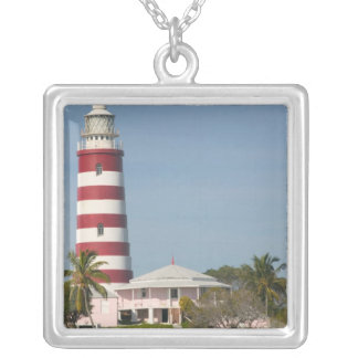 BAHAMAS, Abacos, Loyalist Cays, Elbow Cay, Hope Square Pendant Necklace