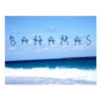 Bahamas and Ocean Postcard