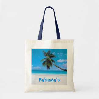 Bahamas Bag - Beach, White Sand and Palm