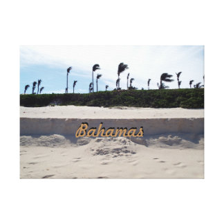 Bahamas Beach Canvas Print