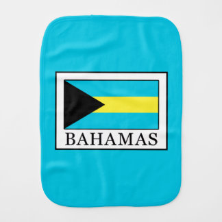 Bahamas Burp Cloth