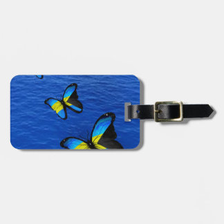 Bahamas Butterfly Baggage Tag