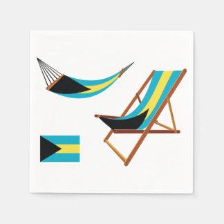 Bahamas Chairs Paper Napkins