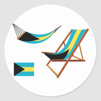Bahamas Chairs Stickers