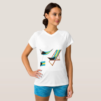 Bahamas Chairs Womens Active Tee