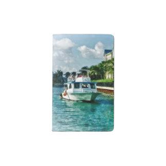 Bahamas - Ferry to Paradise island Pocket Moleskine Notebook