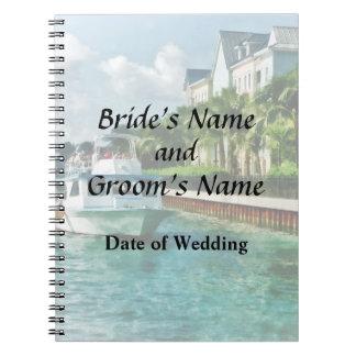 Bahamas - Ferry to Paradise island Wedding Product Note Books