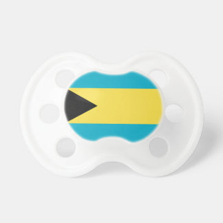 Bahamas Flag Baby Pacifiers
