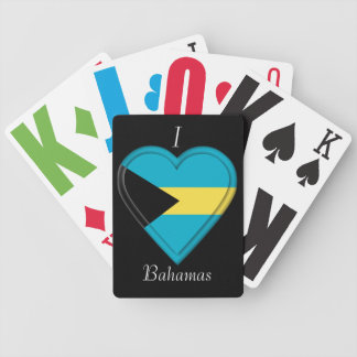 Bahamas Flag Bicycle Playing Cards
