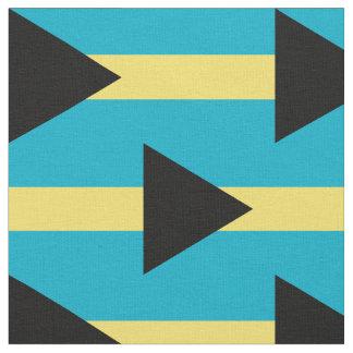 Bahamas flag fabric