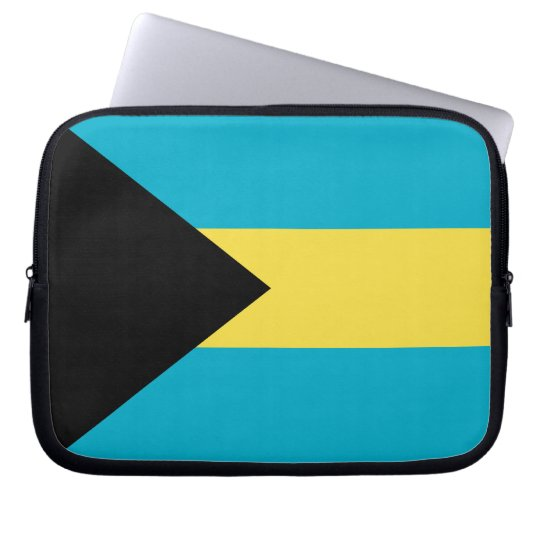 Bahamas Flag Laptop Sleeve