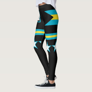 Bahamas Flag Leggings