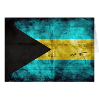 Bahamas Flag Note Card