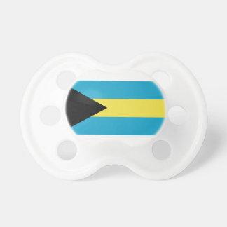 Bahamas flag pacifiers