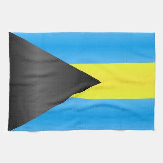 Bahamas Flag Tea Towel