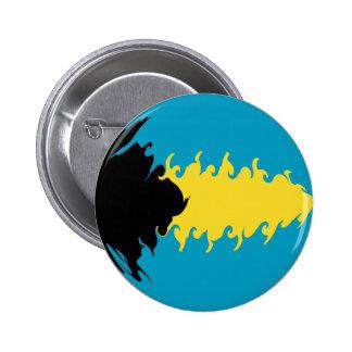 Bahamas Gnarly Flag Buttons