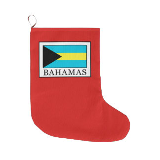 Bahamas Large Christmas Stocking