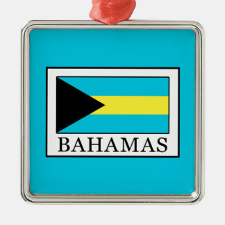 Bahamas Metal Ornament