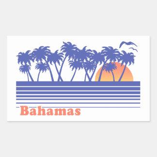 Bahamas Rectangular Sticker