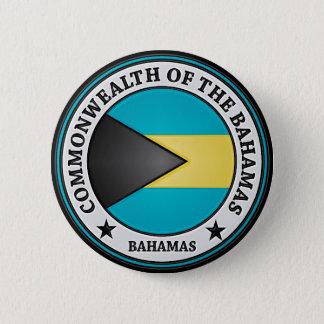 Bahamas Round Emblem 6 Cm Round Badge