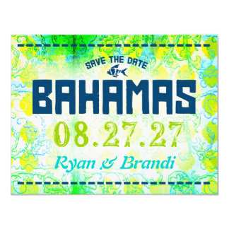 BAHAMAS Save The Date Card