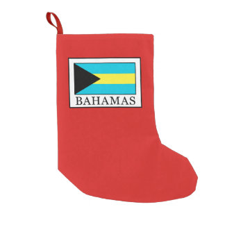 Bahamas Small Christmas Stocking