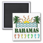 Bahamas Square Magnet