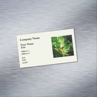 Bahamas - Tropical Paradise Magnetic Business Cards