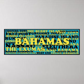 Bahamas word crowd source poster