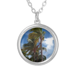 Bahamian Breezes Silver Plated Necklace