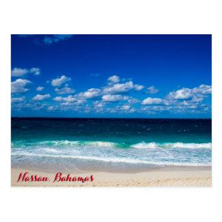 Bahamian Ocean View Postcard