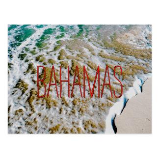 Bahamian Wave Postcard