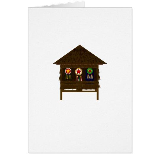 Bahay Kubo- Christmas Card